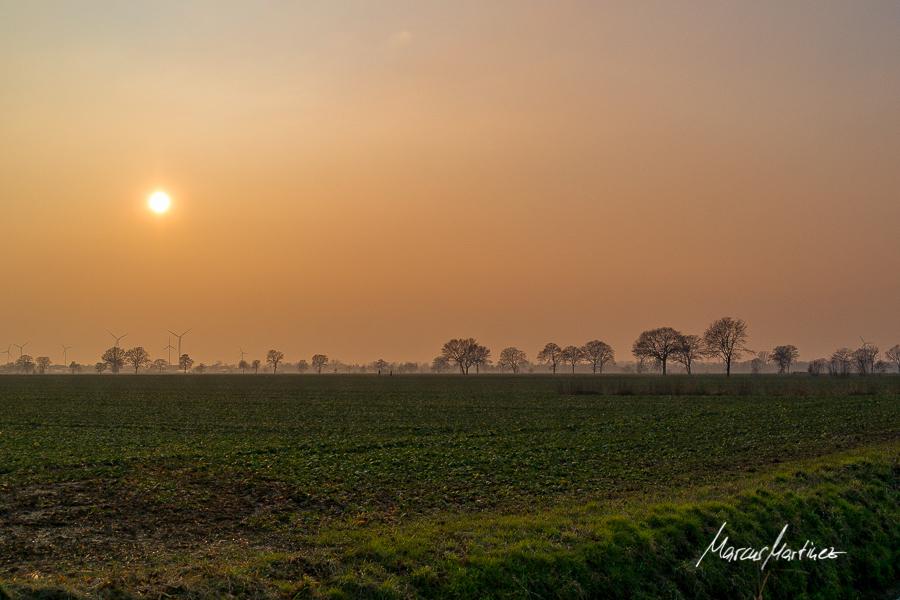 Nachmittagssonne über Altengamme