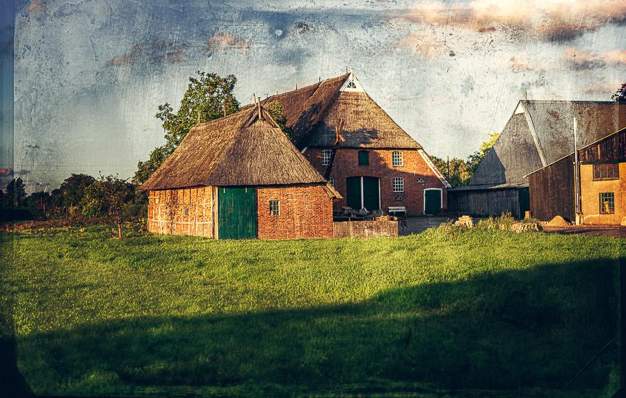 Bauernhof im Norderquerweg in Stadtteil Kirchwerder in Vierlande, Hamburg